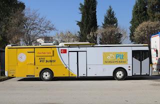 """مؤسسة البريد التركية تفتتح فرعًا في """"تل أبيض"""" السورية"""