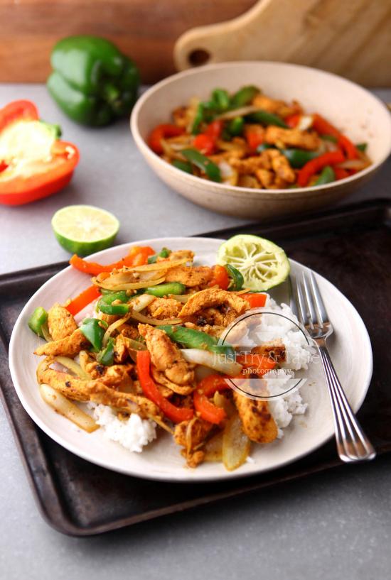 Resep Simple Chicken Fajitas & Perpanjangan Paspor Online