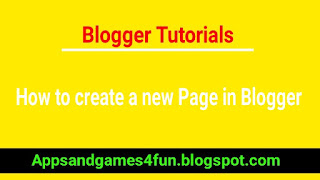 how-to-create-new-page-in-blogger-blog
