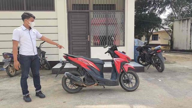Polisi Berhasil Amankan Pelaku Pencurian Sepeda Motor di Nanga Mahap