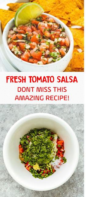 Fresh Tomato Salsa – Dont Miss This Amazing Recipe!