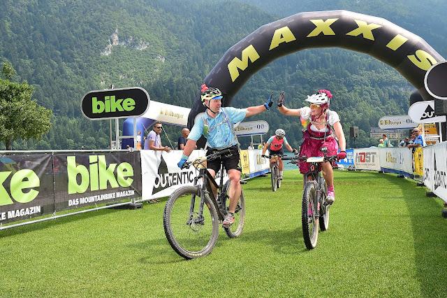 Bike Transalp 2019 Ziel