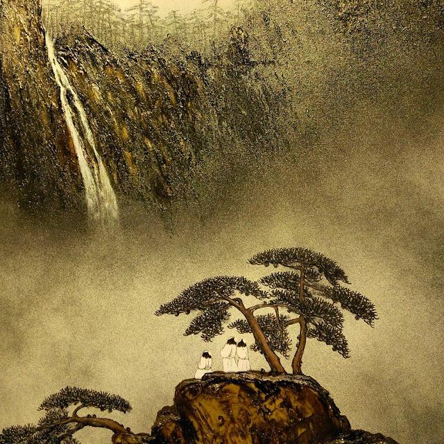 在X-Power Gallery看藝術家散子 Sanzi的油畫《仙風?道》個展;敘說天地的大義~ - True - i TRUE