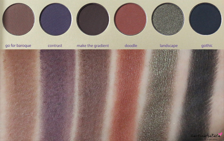 Tarte Tarteist Paint Palette Collector's Set Swatches Row 4