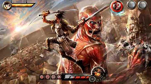 Attack On Titan - trận đấu sống sót của bé người trước loài lớn tưởng Titan