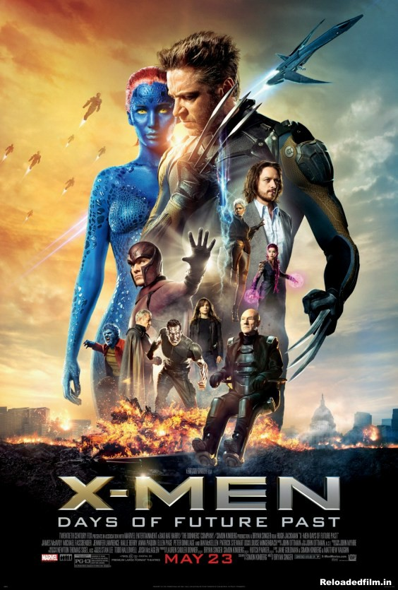 X-Men: Days of Future Past 2014 Movie BluRay Dual Audio Hindi Eng 480p  720p  1080p
