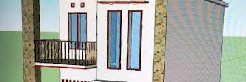 Desain Lengkap Rumah Tingkat Minimalis