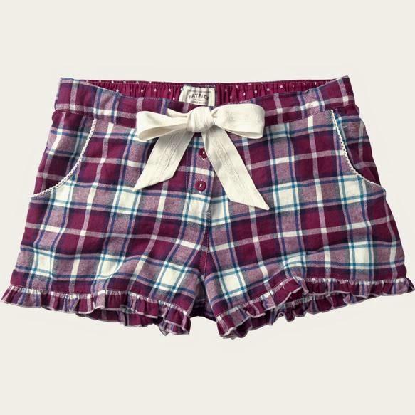 SUNCREAM AND SPARKLES: FatFace Pyjama Shorts