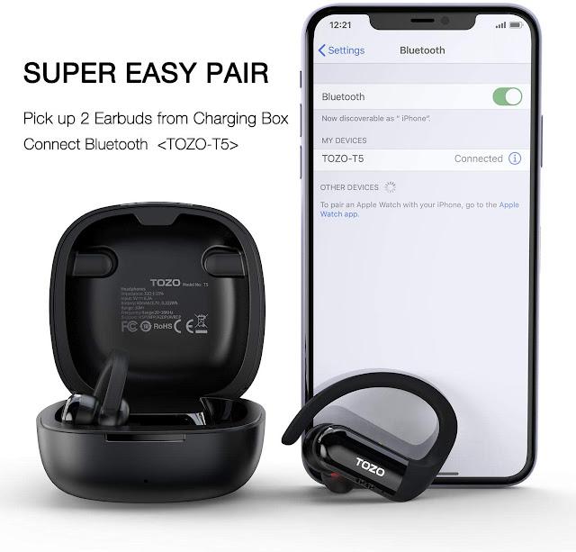 TOZO T5 Wireless Earbuds