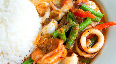 Món ngon - Cà ri hải sản