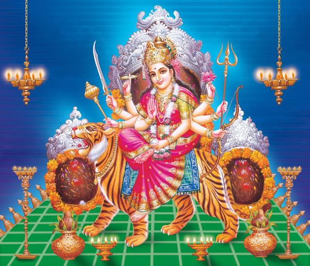 Beautifull Maa Vasihno Devi HD Wallpaper