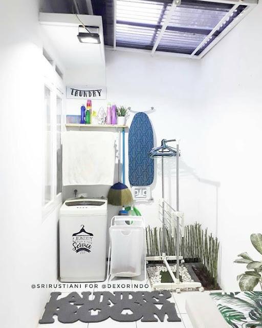 Ruang cuci dan jemuran merupakan bagian penting dalam sebuah rumah.  Mendesain laundry room tak hanya mengedepankan fungsi, lebih dari itu juga harus mengedepankan faktor kenyamanan dan estetika ruangan.