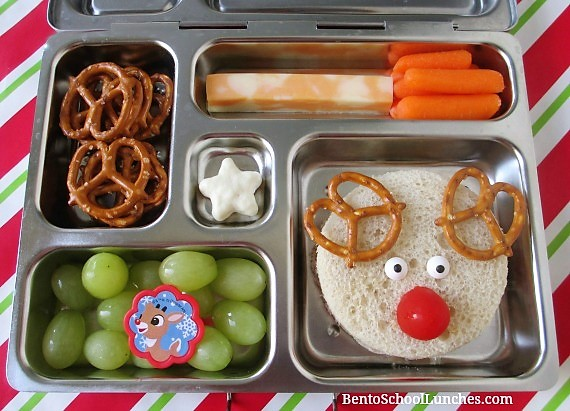 Rudolph The Red Nosed Reindeer Bento Lunch