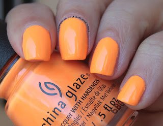 China Glaze Lite Brites None of Your Risky Business