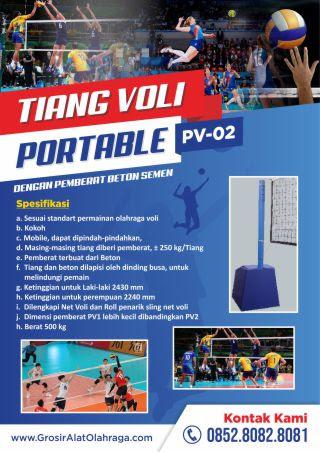 tiang voli portable pv-02
