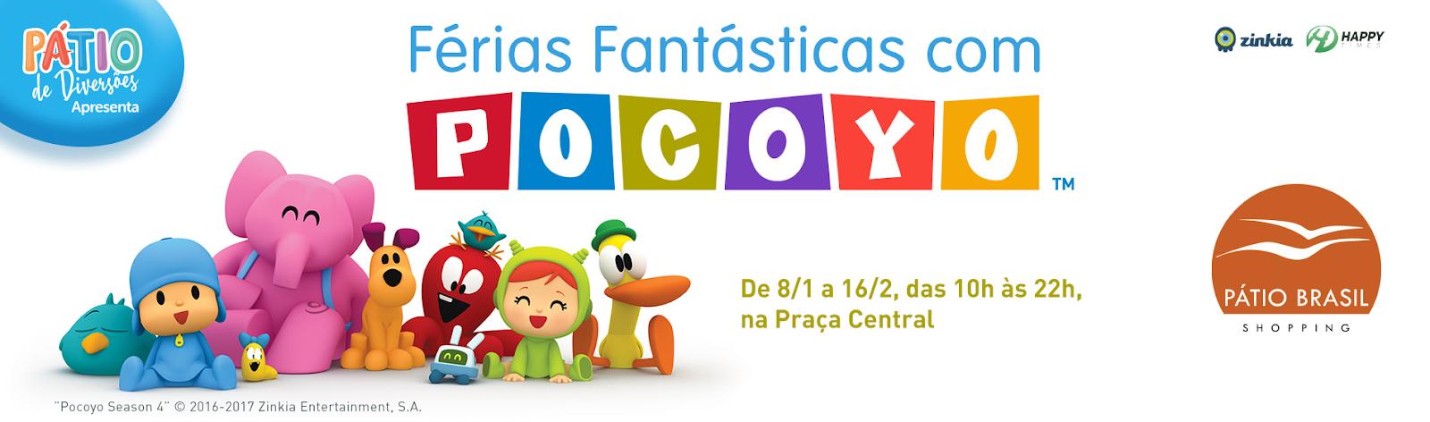 Evento Do Desenho Pocoyo Comeca Quarta No Patio Cade Brasilia