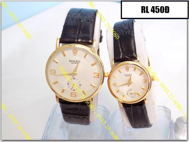 Đồng hồ dây da Rolex 450D