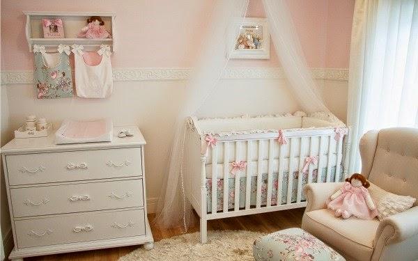 Fotos de dormitorios para beb en color rosa dormitorios - Dormitorio de bebe nina ...