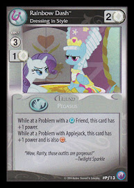 My Little Pony Rainbow Dash, Dressing in Style Canterlot Nights CCG Card