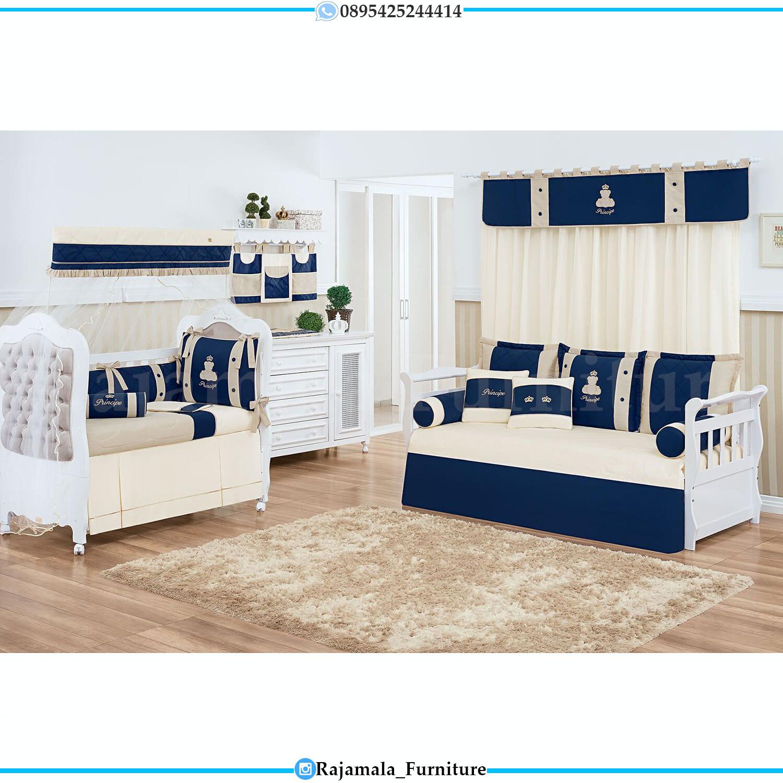 Box Bayi Minimalis Elegant Design Furniture Jepara Terbaru RM-0087