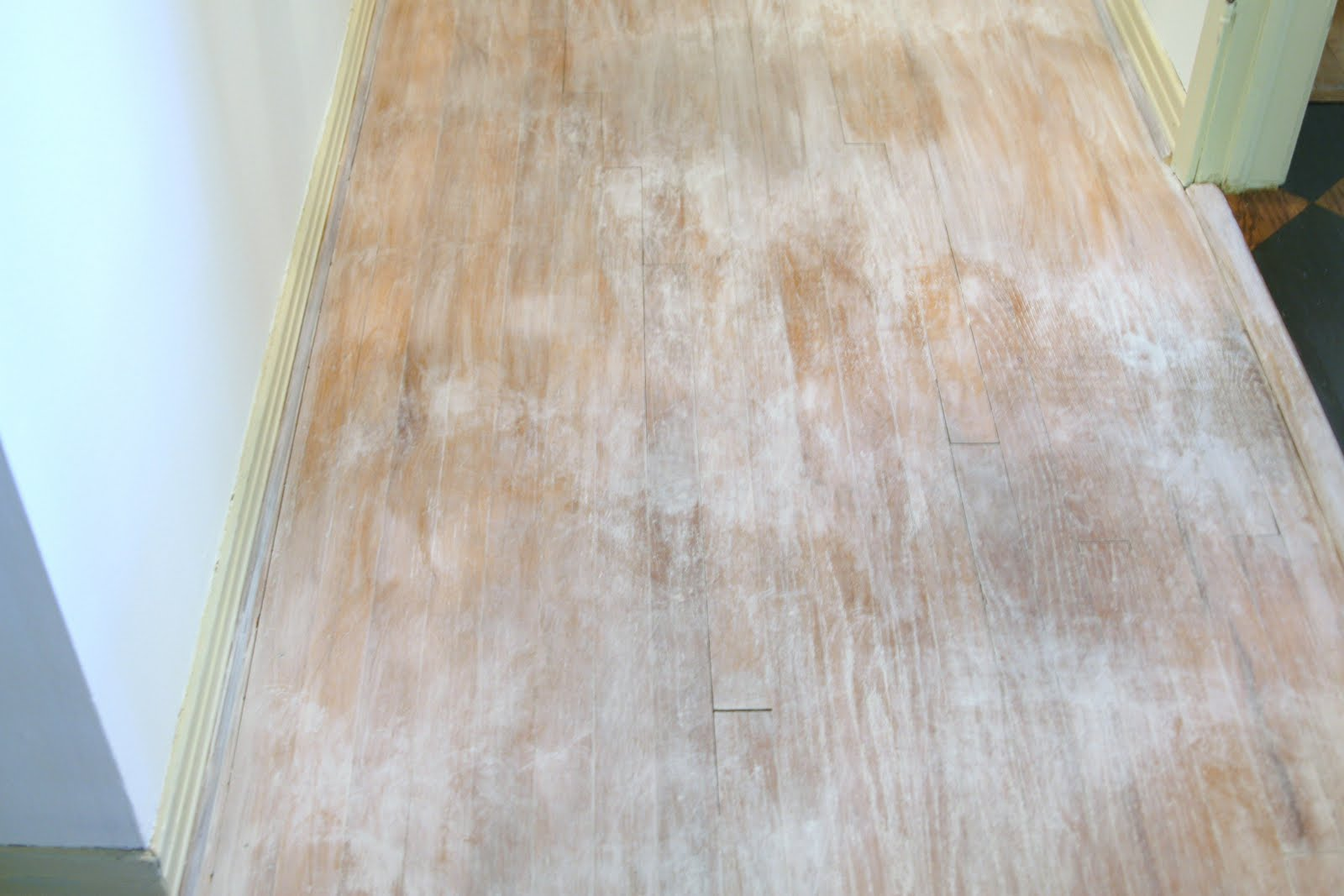 Floors Limed Washed With Chalk Paint 174