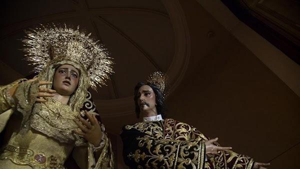 Domingo de Ramos de puertas abiertas en San Juan de la Palma de Sevilla