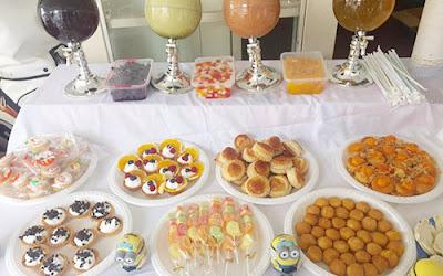 Thực đơn buffet cho bé từ 2- 10 tuổi