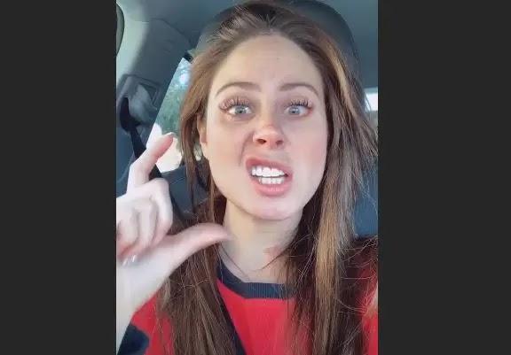 Ignacia Michelson se colocó un adorno en los dientes