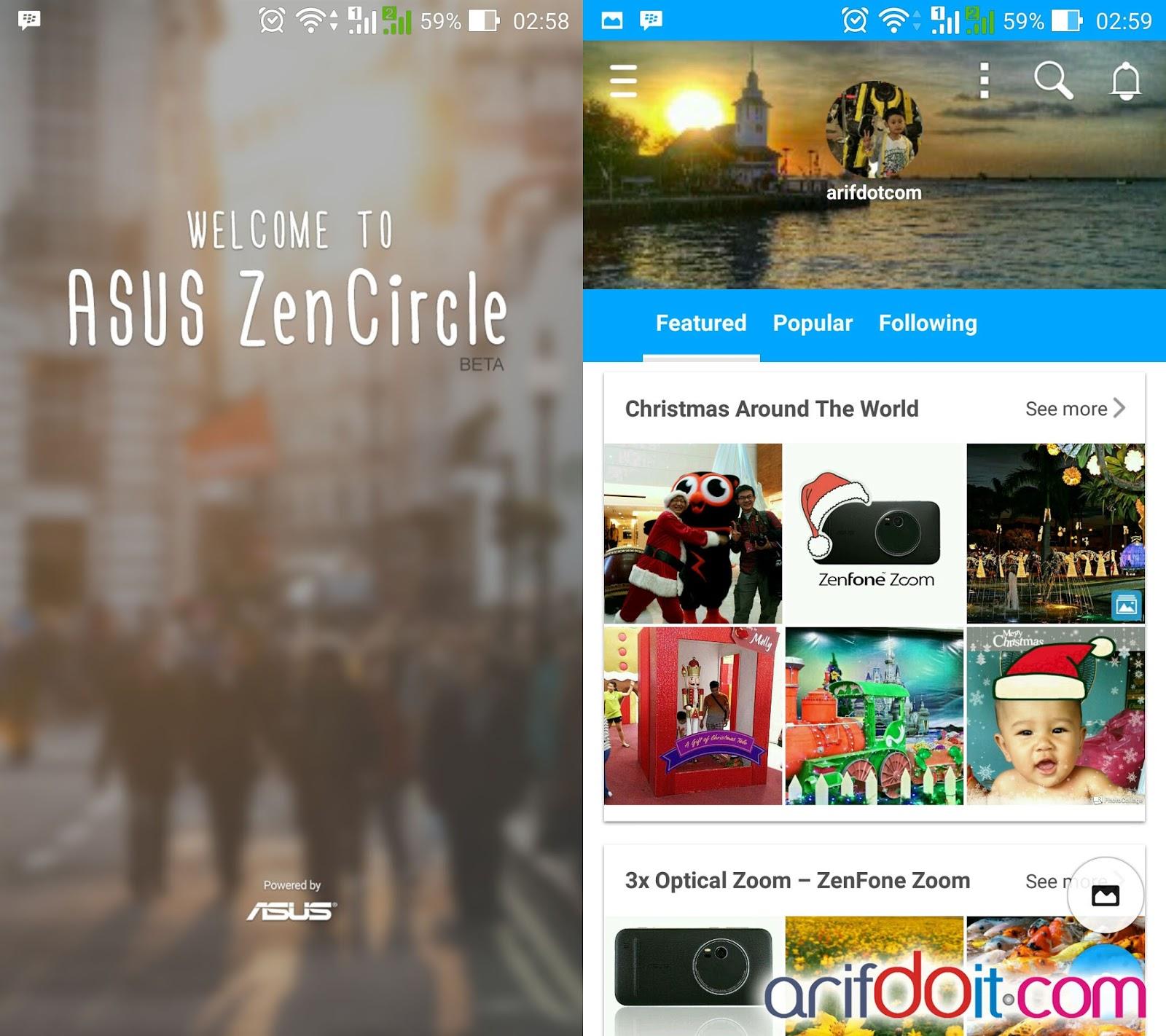 Zencircle aplikasi jejaring sosial pecinta photography
