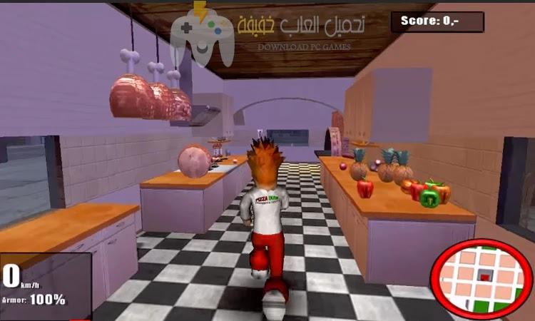 تحميل لعبة Pizza Dude للكمبيوتر مجانا برابط مباشر مضغوطة