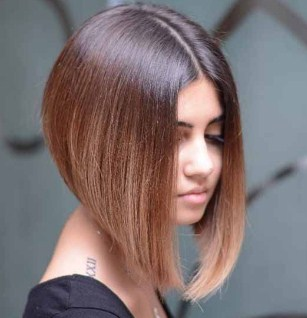 model rambut bob panjang untuk wajah bulat