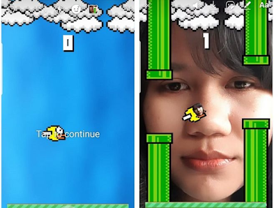 Game kedip mata di instagram, begini cara main flying face di instagram