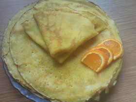 Blynai su apelsinu