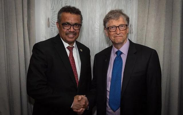 Dr. Tedros Adhanom e Bill Gates per la sterilizzazione forzata del genere umano
