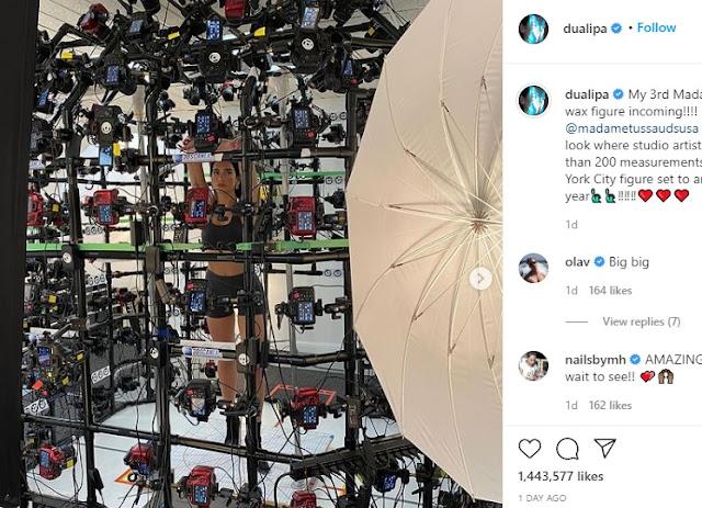 """Dua Lipa presto con la terza statua di cera in """"Madame Tussauds"""""""