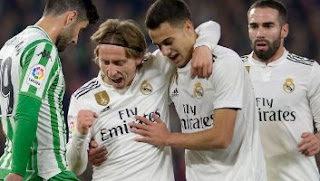 Real Betis vs Real Madrid 1-2 Highlights
