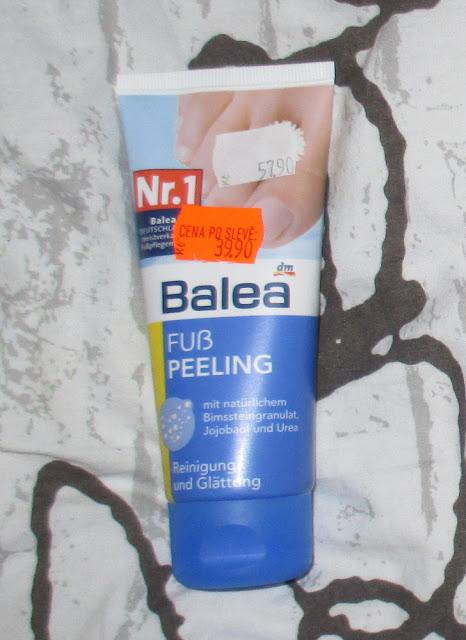 peeling na nohy balea