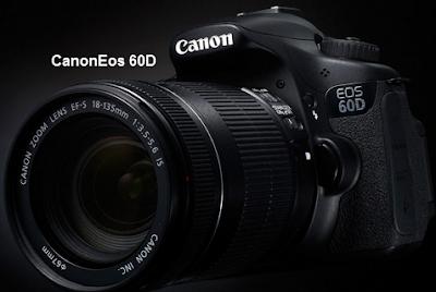 Spesifikasi dan Harga Kamera Canon Eos 60D Tahun 2015