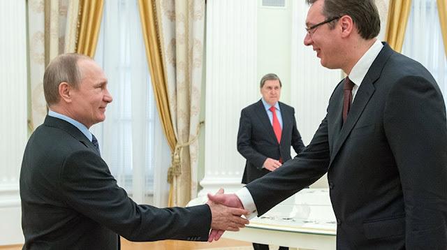 Il presidente russo Vladimir Putin visiterà la Serbia ad ottobre