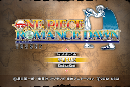 One Piece Romance Dawn [English Patch] PSP