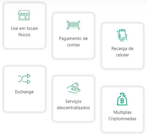 funcionalidades bancryp criptomoedas