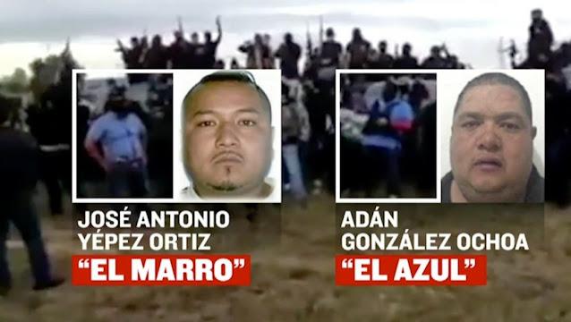 """El Pacto de El CJNG VS El CDSRL tras la captura de """"El Marro"""" que termino con la llegada de El Azul, hizo limpia interna y asesino a desertores que se fueron con los de Jalisco"""