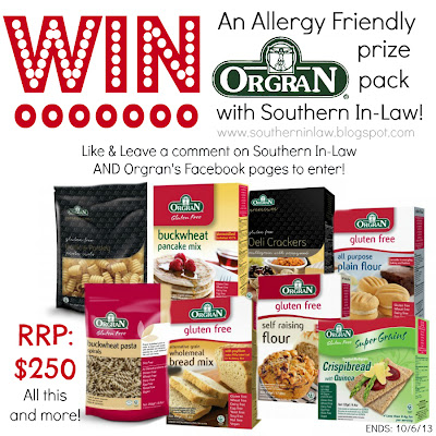 Allergy Awareness Week Giveaway 2013