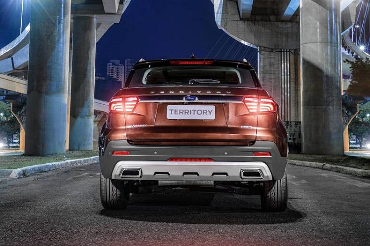 Ford Territory 2021 mới, 'đối thủ' Honda CR-V sắp ra mắt