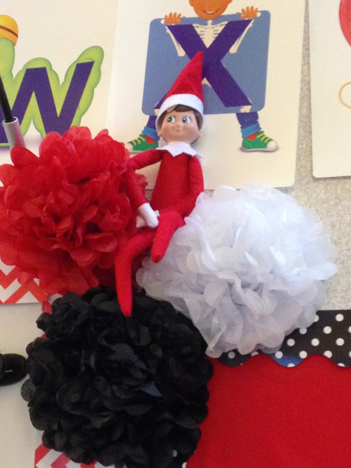 elf on shelf, elf in kindergarten