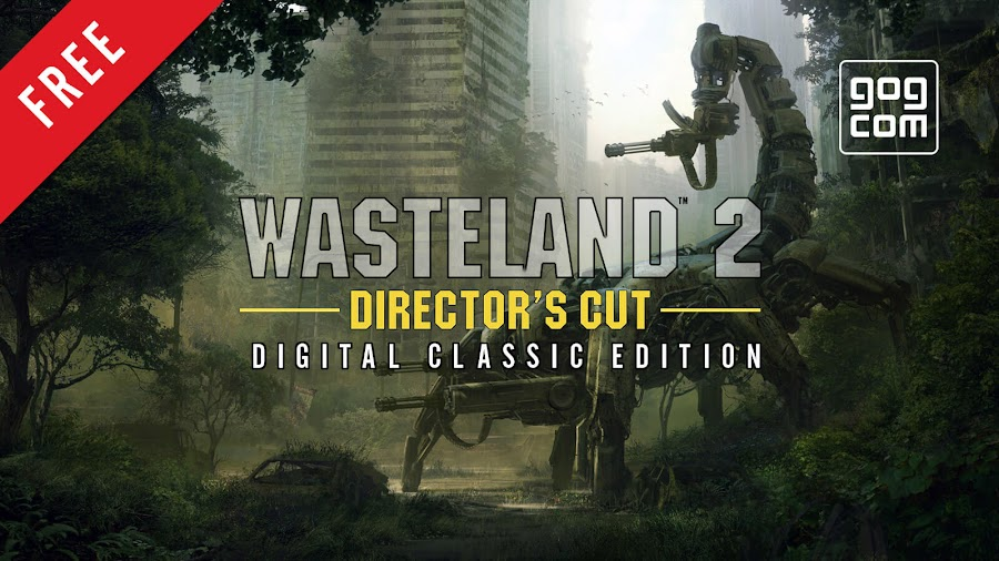 wasteland 2 director's cut digital classic edition free gog pc game rpg inxile entertainment deep silver drm free
