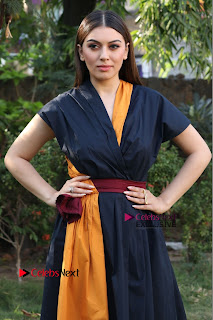Actress Hansika Motwani Latest Pos at Bogan Movie Press Meet  0036.jpg