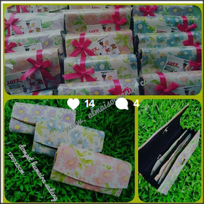 souvenir dompet batik humairo besar