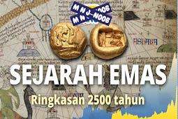Sejarah Emas Sebagai Alat Tukar Barang Sebelum Uang Logam dan Kertas