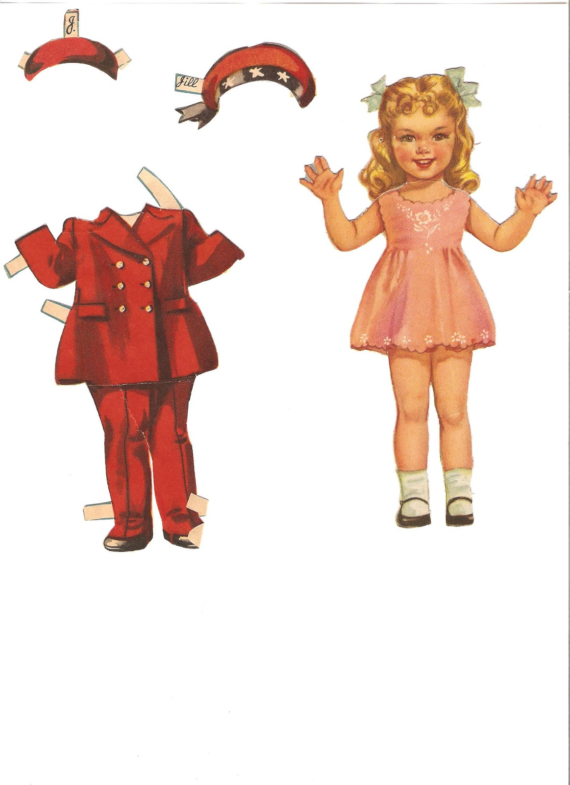 miss missy paper dolls baby mine